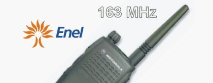 La ex rete radio ENEL sui 163 MHz